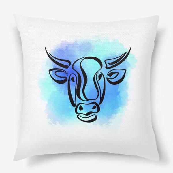 Подушка «Бык»