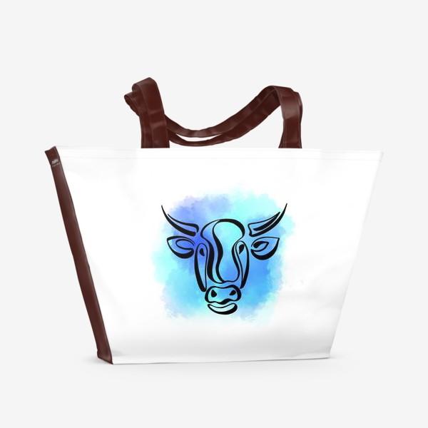 Пляжная сумка «Бык»