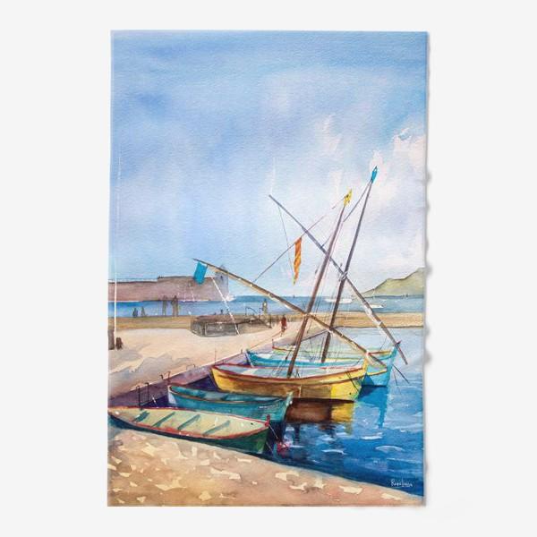 Полотенце «Яхты Франция»