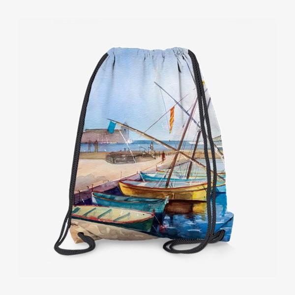 Рюкзак «Яхты Франция»