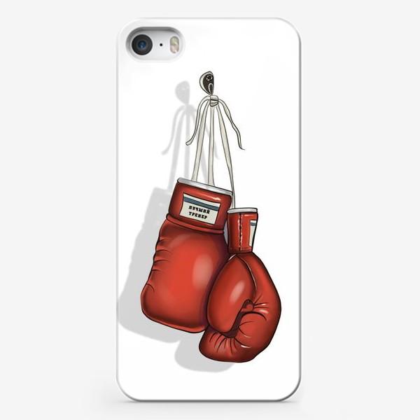 Чехол iPhone «Лучший тренер»