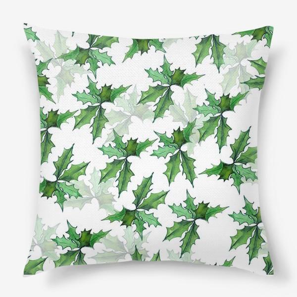 Подушка «поддуб зелень»