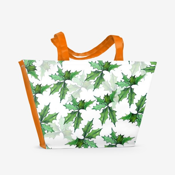 Пляжная сумка «поддуб зелень»