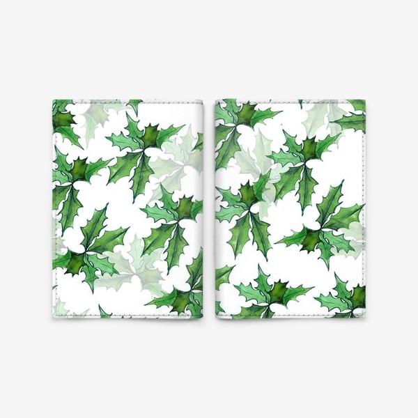 Обложка для паспорта «поддуб зелень»