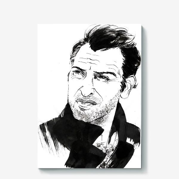 Холст «Jean Dujardin»