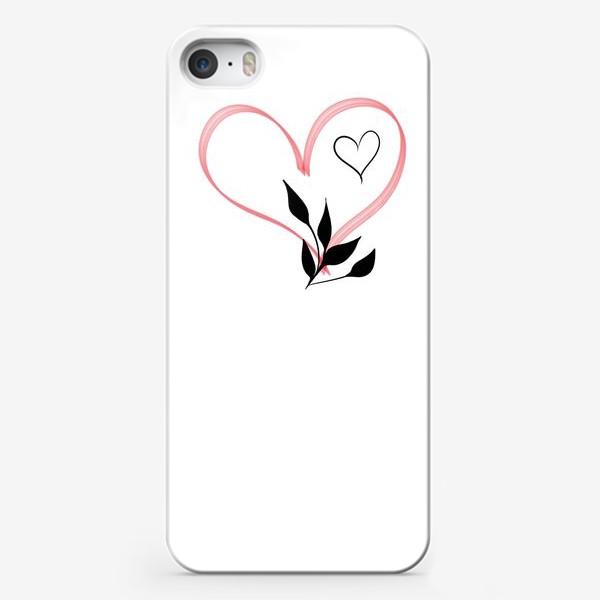 Чехол iPhone «Сердце»
