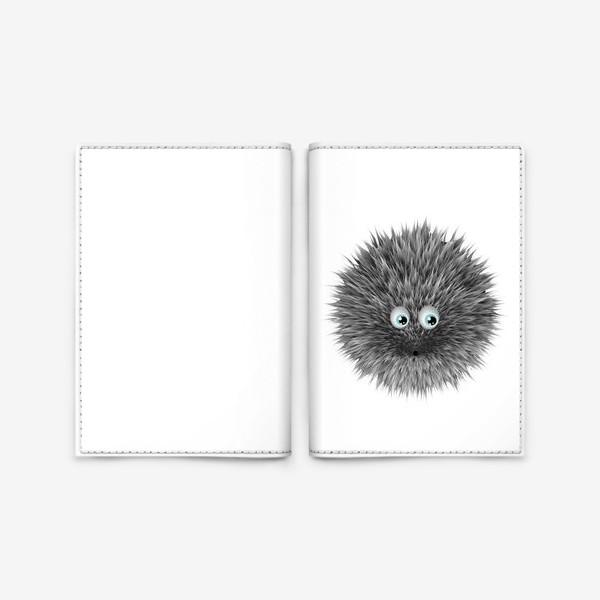 Обложка для паспорта «ёж»