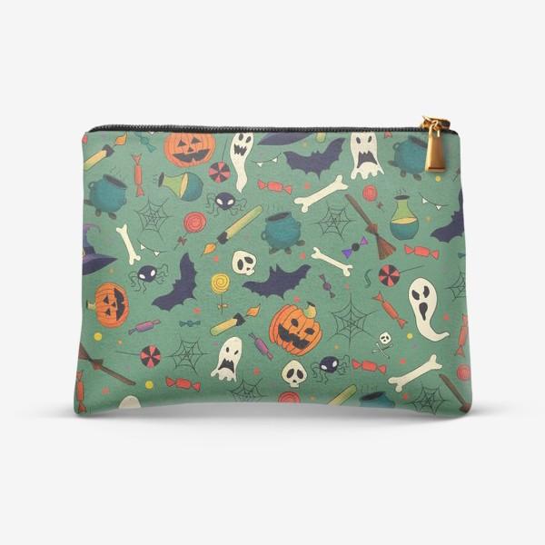 Косметичка «Хеллоуин Паттерн»