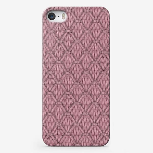 Чехол iPhone «РОЗОВАЯ СОГРЕВАЙКА»