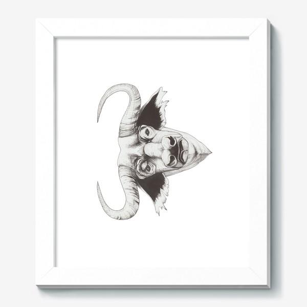 Картина «Бык смотрит»