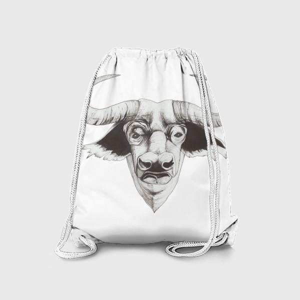 Рюкзак «Бык смотрит»