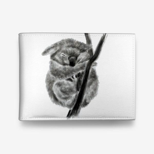 Кошелек «коала спит на ветке»