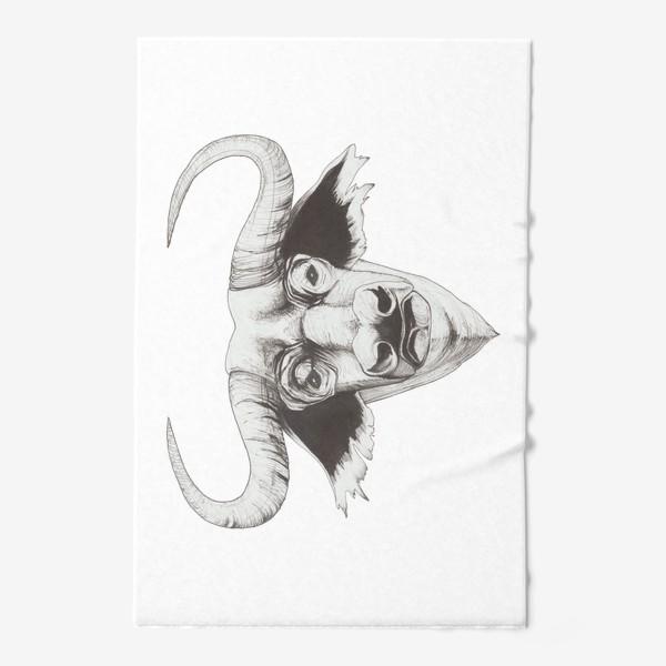 Полотенце «Бык смотрит»