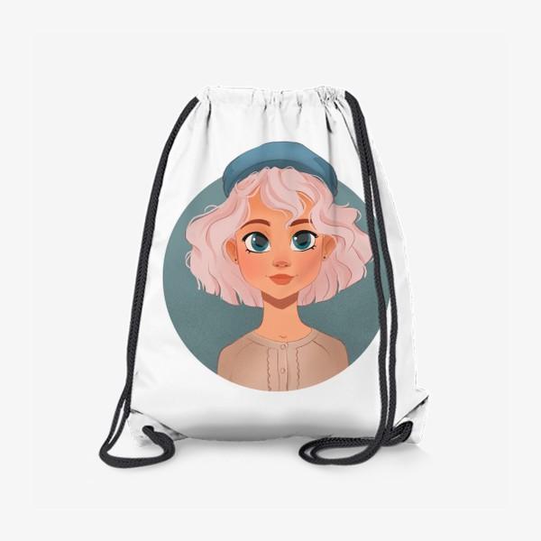 Рюкзак «Девушка мультяшный »