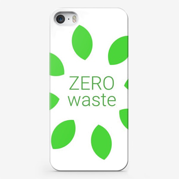 Чехол iPhone «ZERO WASTE»