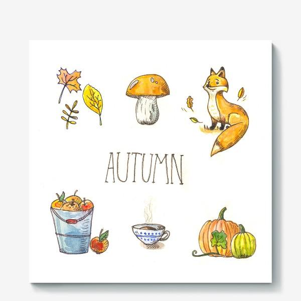 Холст «Осеннее настроение»