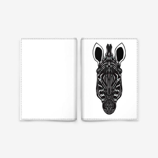 Обложка для паспорта «Зебра»