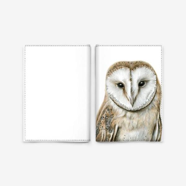Обложка для паспорта «Сова.»