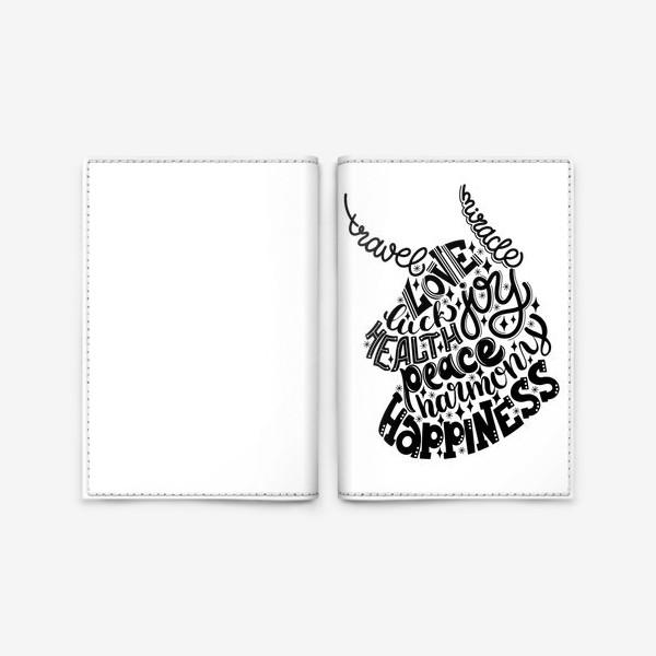 Обложка для паспорта «Пожелания»