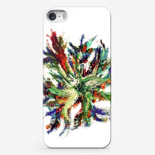 Чехол iPhone «букет цветов абстракция»