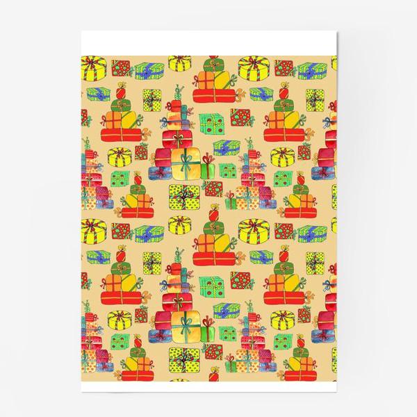 Постер «Новогодние подарки»