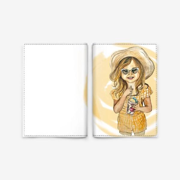 Обложка для паспорта «Солнечная девочка»