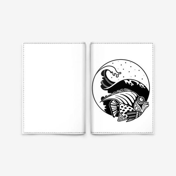 Обложка для паспорта «Рыба»