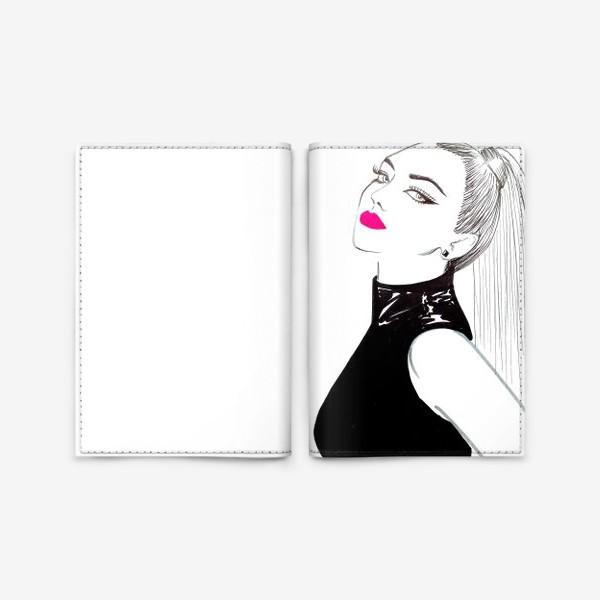 Обложка для паспорта «Модная девушка»