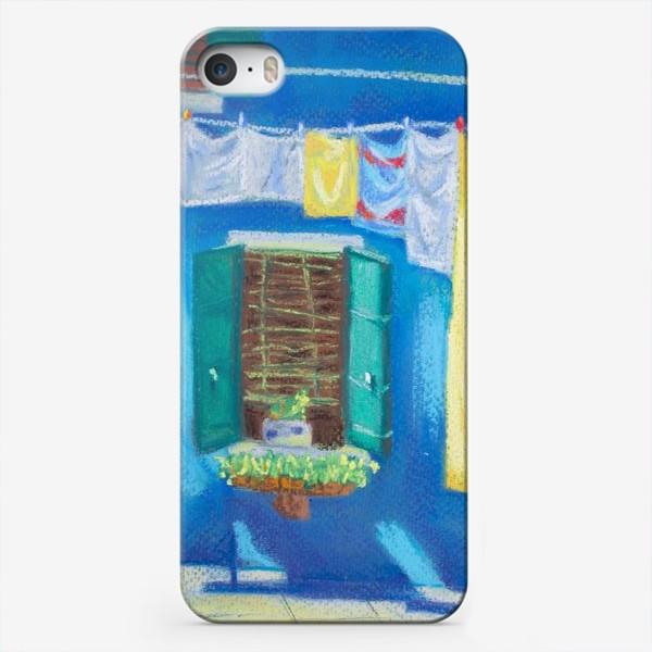 Чехол iPhone «Картина Венеция. Яркие краски. Путешествие по Италии. Пастель.»