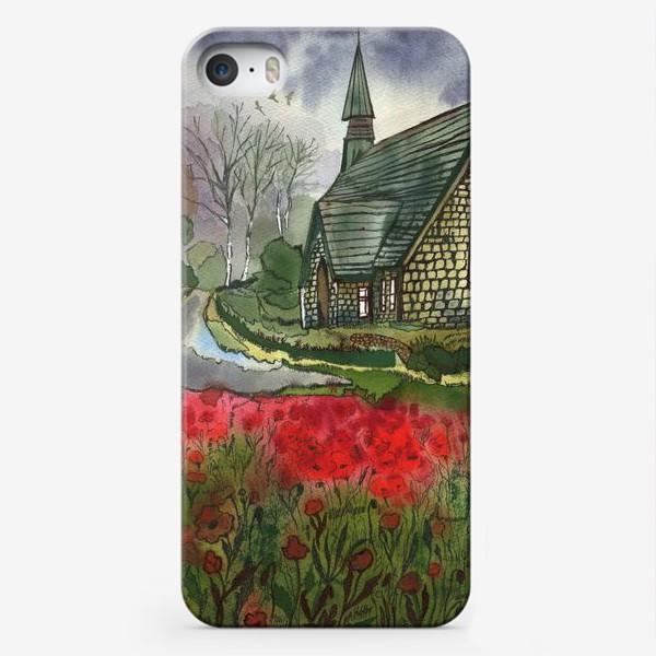 Чехол iPhone «Дом у дороги»