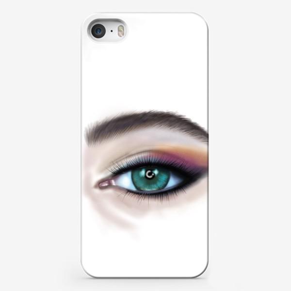 Чехол iPhone «Глаз »