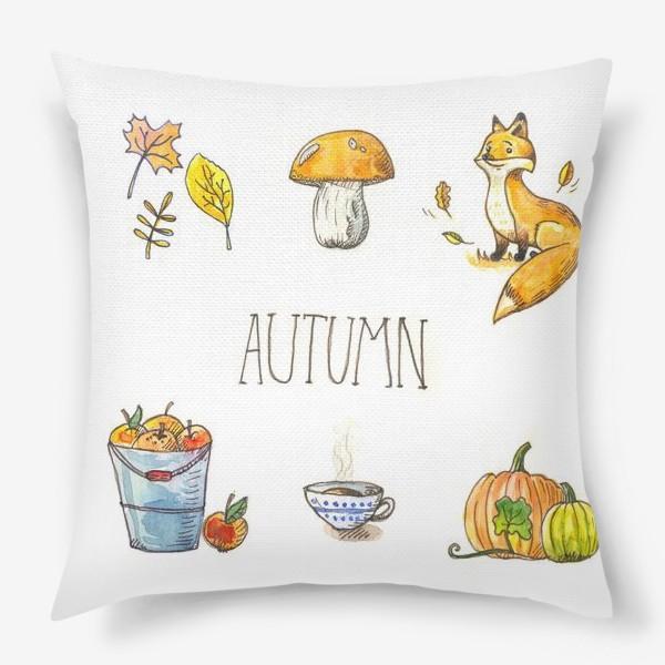 Подушка «Осеннее настроение»