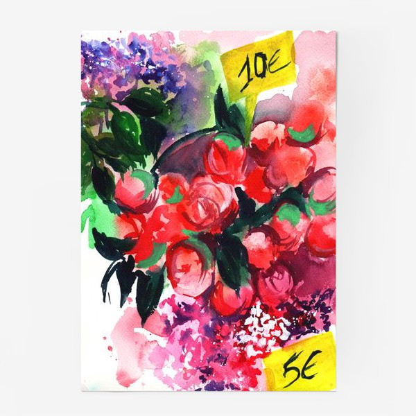 Постер «Цветочный базар»