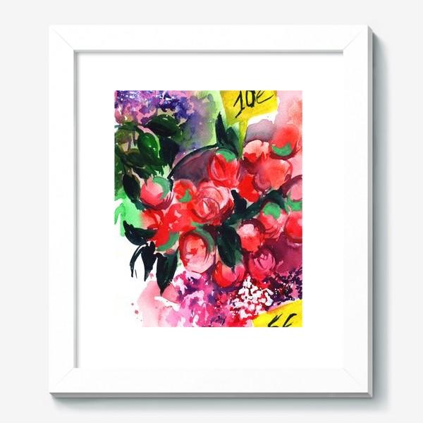 Картина «Цветочный базар»