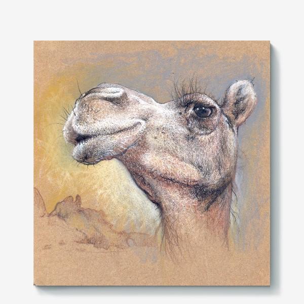 Холст «Верблюд, подарок с юмором»