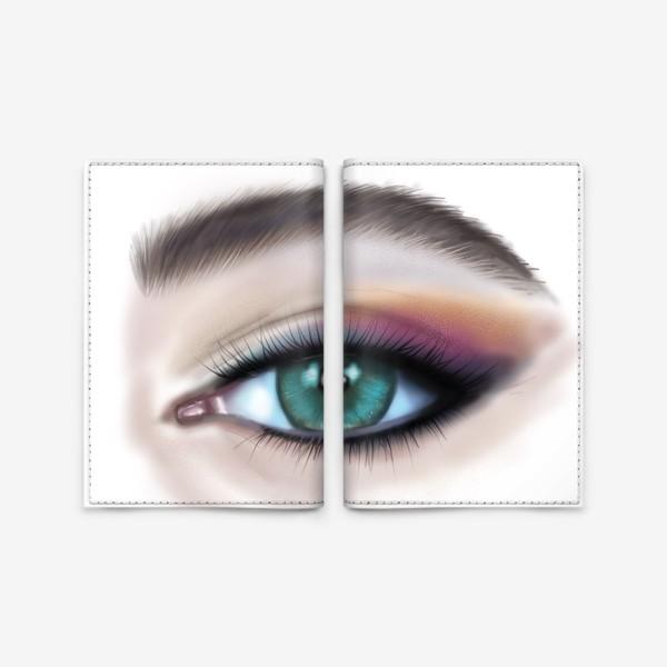 Обложка для паспорта «Глаз »
