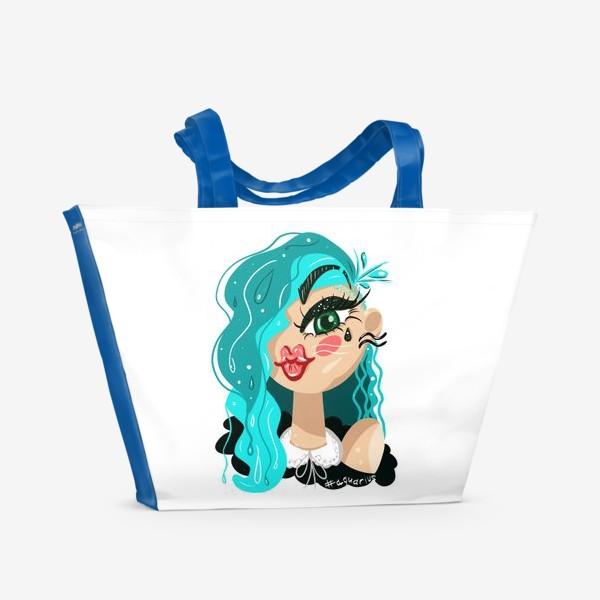 Пляжная сумка «Гороскоп. Водолей»