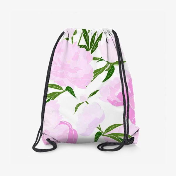 Рюкзак «пионы»