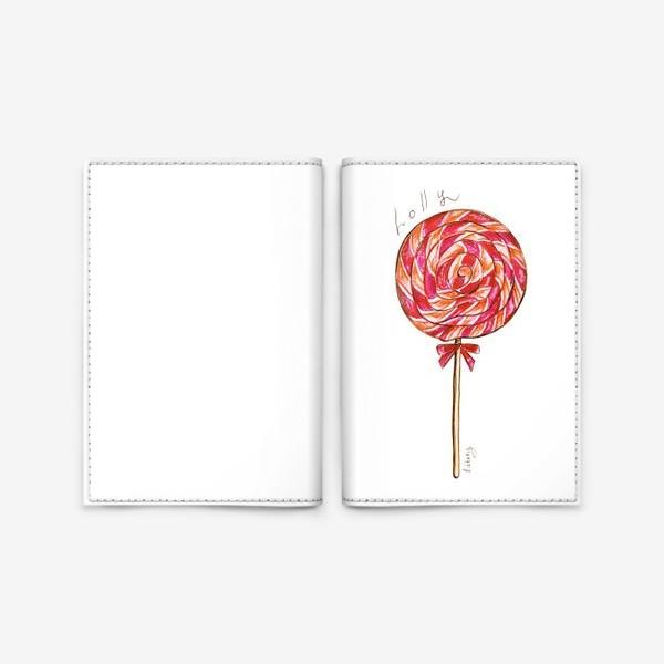 Обложка для паспорта «Леденец»