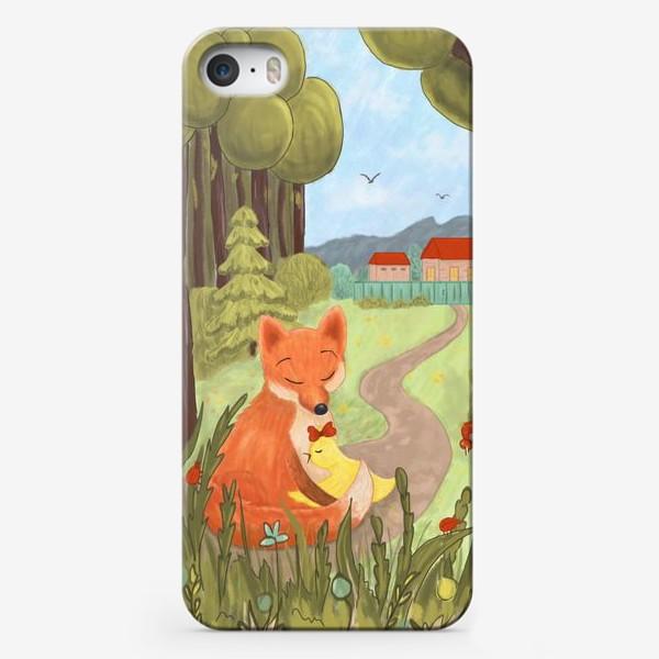Чехол iPhone «Лисёнок Людвиг 14 и Тутта Карлсон»