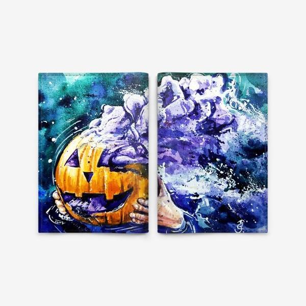 Обложка для паспорта «хеллоуин»