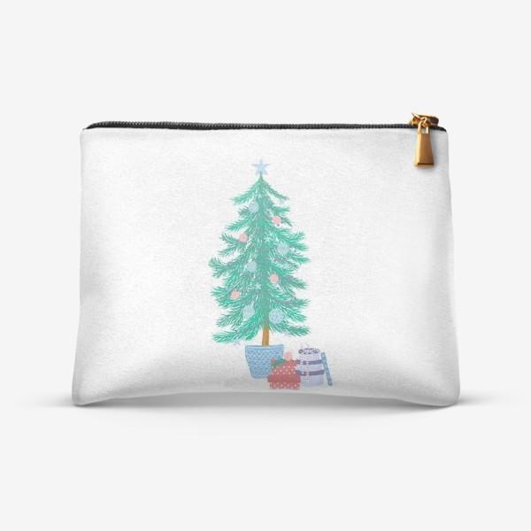 Косметичка «Новогодняя елка»