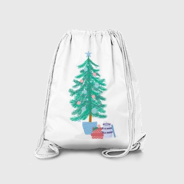 Рюкзак «Новогодняя елка»