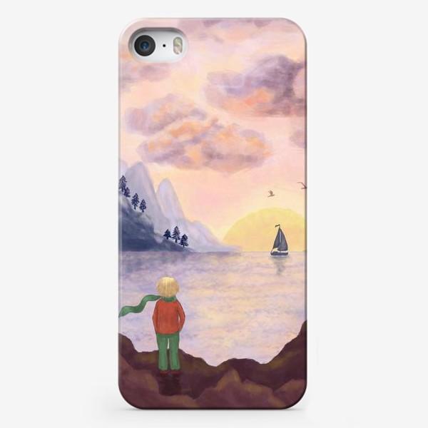 Чехол iPhone «Мечты и море»