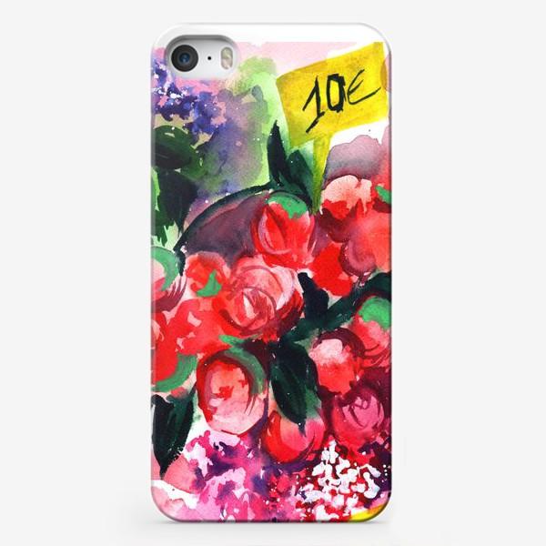 Чехол iPhone «Цветочный базар»