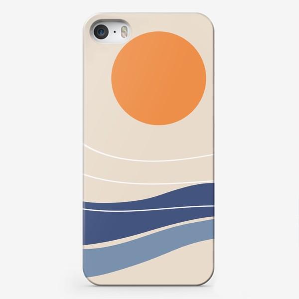Чехол iPhone «Море и солнце»