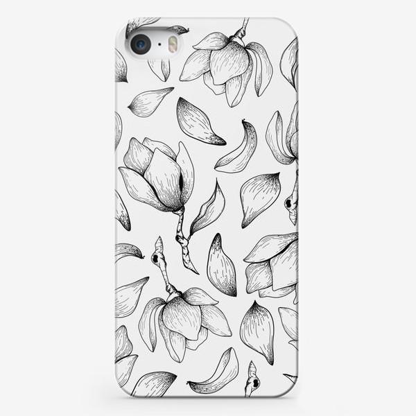Чехол iPhone «Цветы магнолии / Magnolia Flowers»