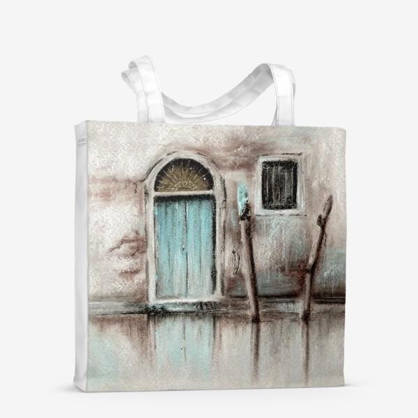 Сумка-шоппер «Венеция городской пейзаж»