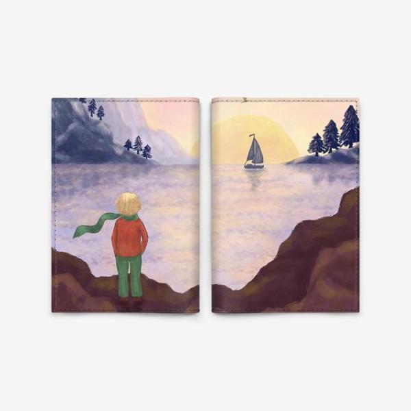 Обложка для паспорта «Мечты и море»