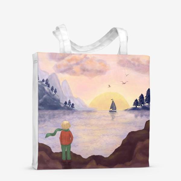 Сумка-шоппер «Мечты и море»
